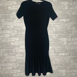 Milly Black Dress Size Small